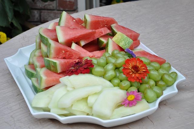porcované ovoce