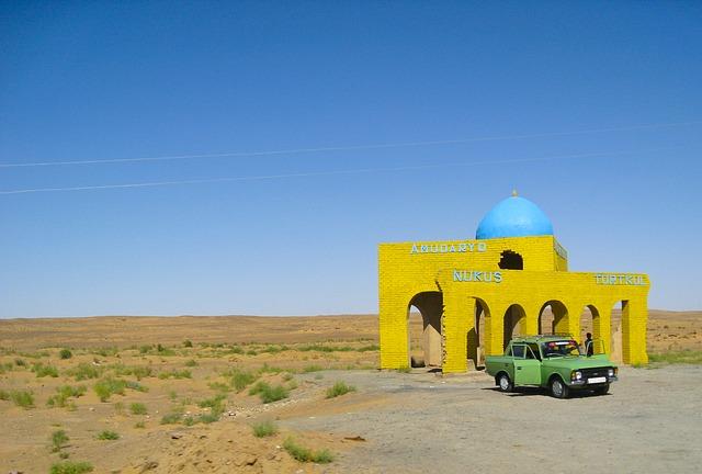 kyzylkum poušť