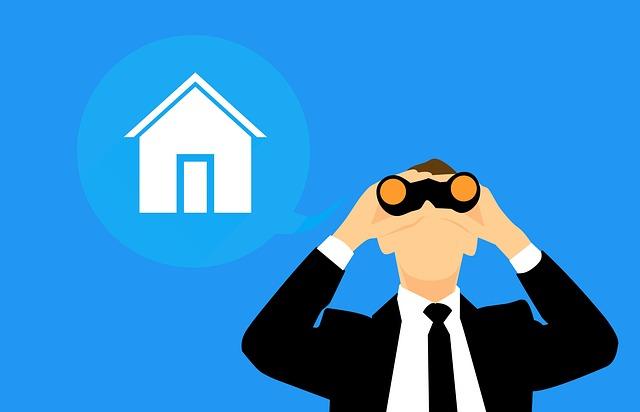 hledání vhodného domu