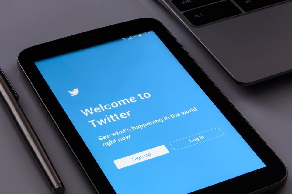 přihlášení na Twitter