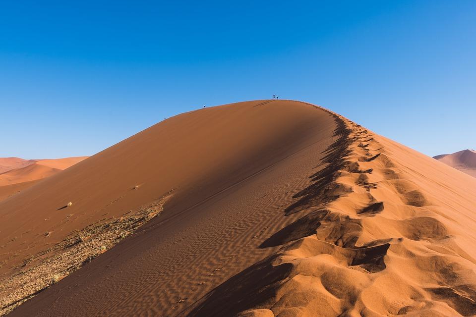 suchý písek